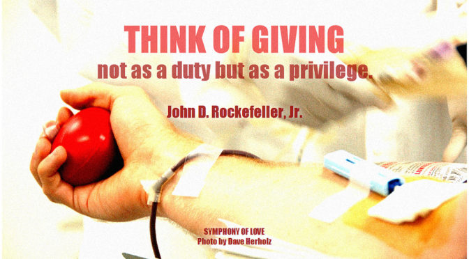 Charitable Giving Benefits All Involved